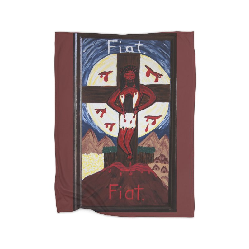 Indwelling Eucharistic Love Home Blanket by Mary Kloska Fiat's Artist Shop