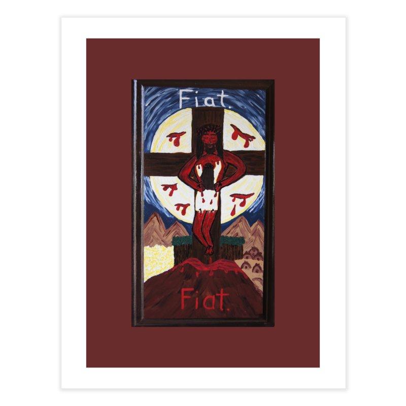 Indwelling Eucharistic Love Home Fine Art Print by Mary Kloska Fiat's Artist Shop