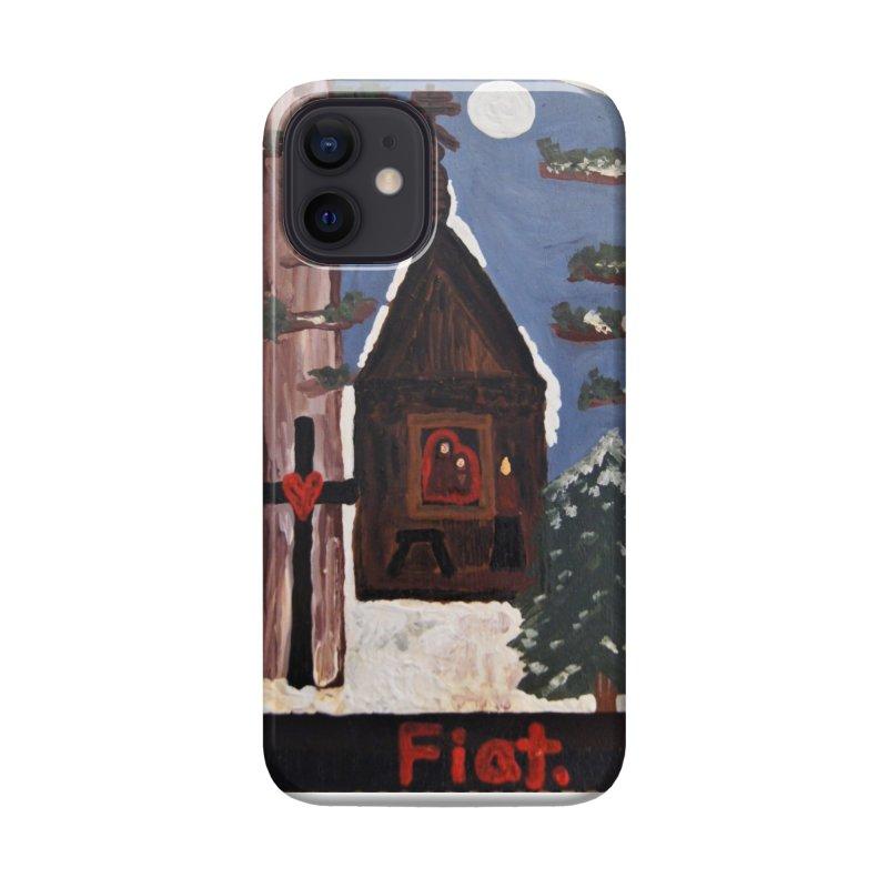 Russian Chapel in a Snowy Wood Accessories Phone Case by Mary Kloska Fiat's Artist Shop