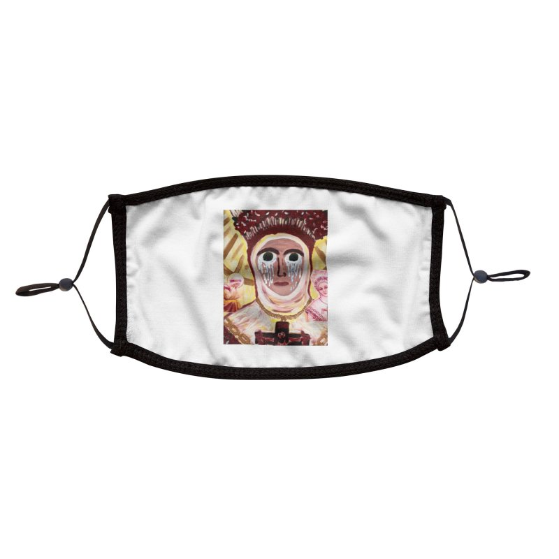 Our Lady of La Salette Accessories Face Mask by Mary Kloska Fiat's Artist Shop