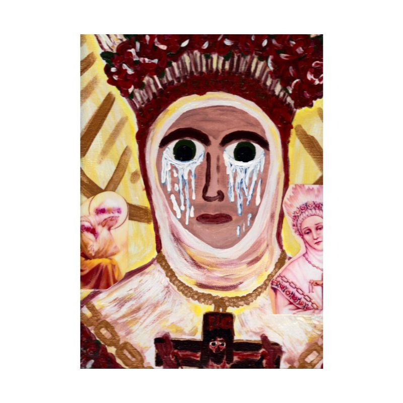 Our Lady of La Salette Home Framed Fine Art Print by Mary Kloska Fiat's Artist Shop