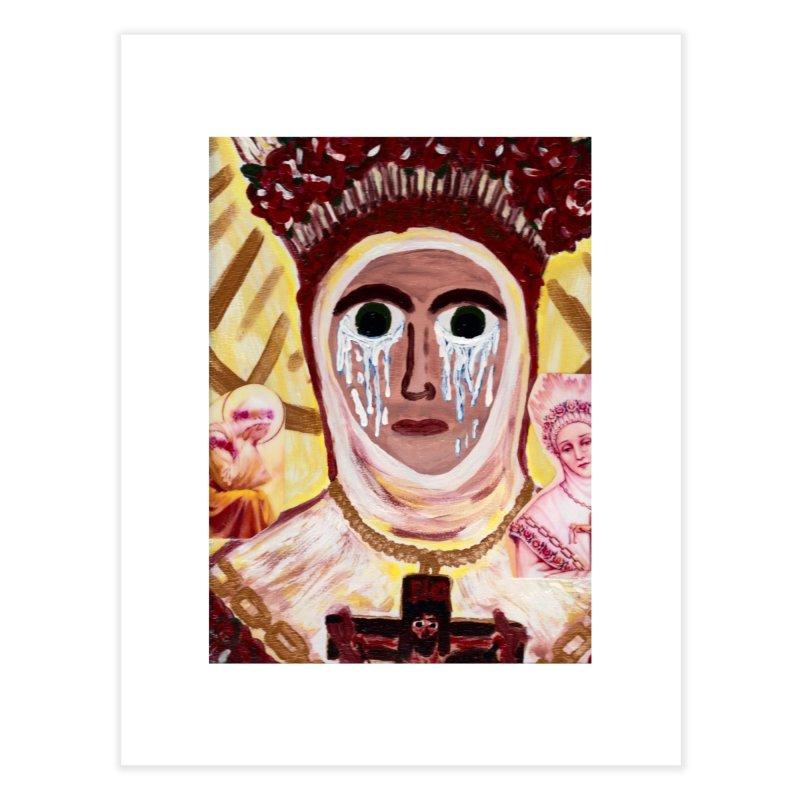 Our Lady of La Salette Home Fine Art Print by Mary Kloska Fiat's Artist Shop