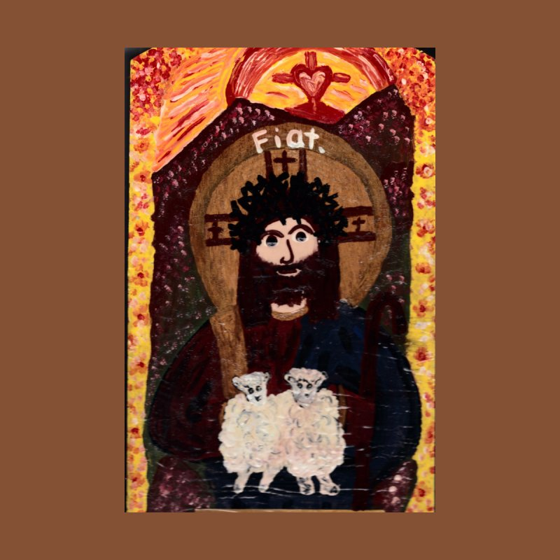 Jesus, The Good Shepherd Home Fine Art Print by Mary Kloska Fiat's Artist Shop