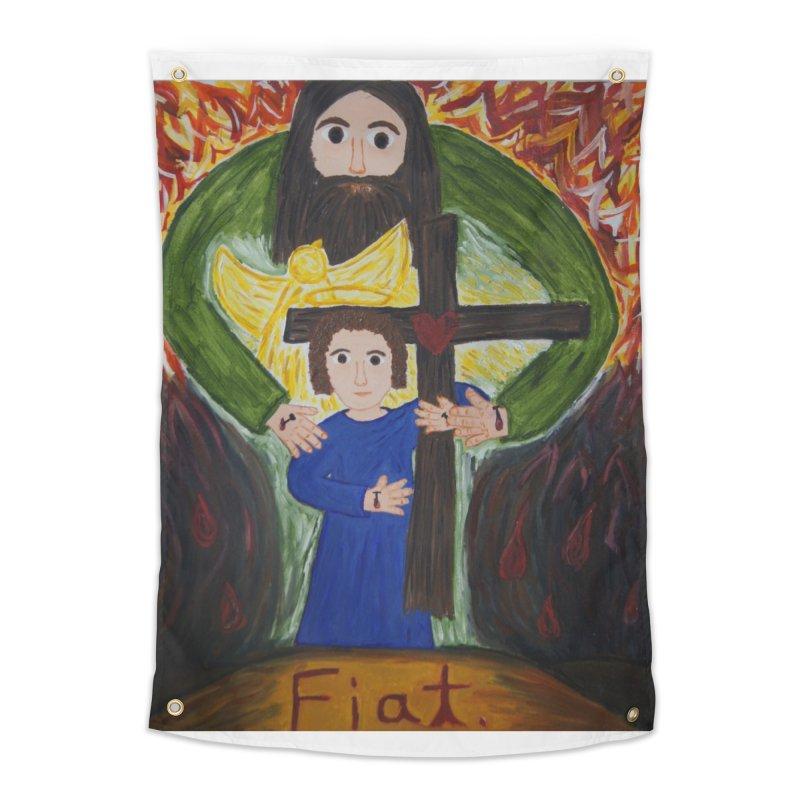 Trinity Home Tapestry by Mary Kloska Fiat's Artist Shop
