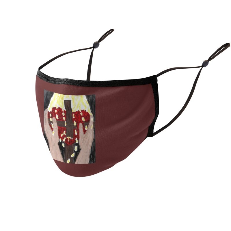 Daily Offering Accessories Face Mask by Mary Kloska Fiat's Artist Shop