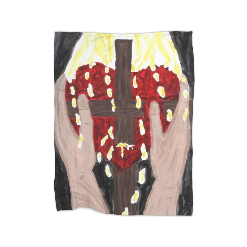 Daily Offering Home Blanket by Mary Kloska Fiat's Artist Shop