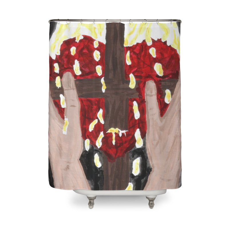 Daily Offering Home Shower Curtain by Mary Kloska Fiat's Artist Shop
