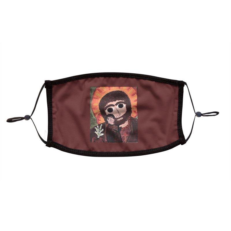 St. Joseph -II Accessories Face Mask by Mary Kloska Fiat's Artist Shop