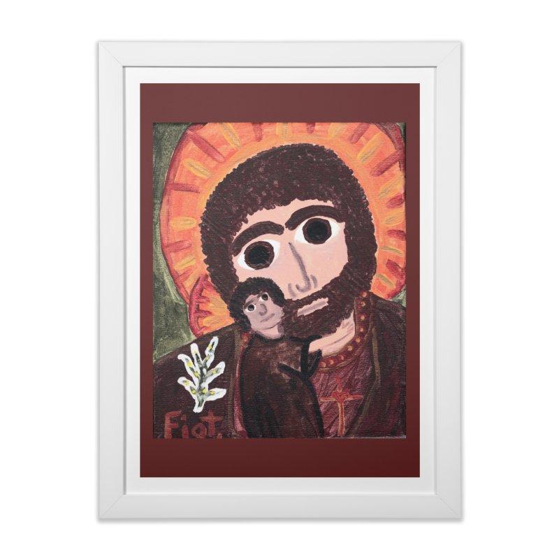 St. Joseph -II Home Framed Fine Art Print by Mary Kloska Fiat's Artist Shop