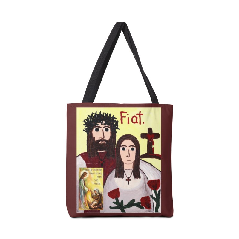 Jesus with 'Mary' Accessories Bag by Mary Kloska Fiat's Artist Shop
