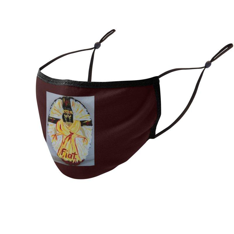 Resurrected Jesus Accessories Face Mask by Mary Kloska Fiat's Artist Shop
