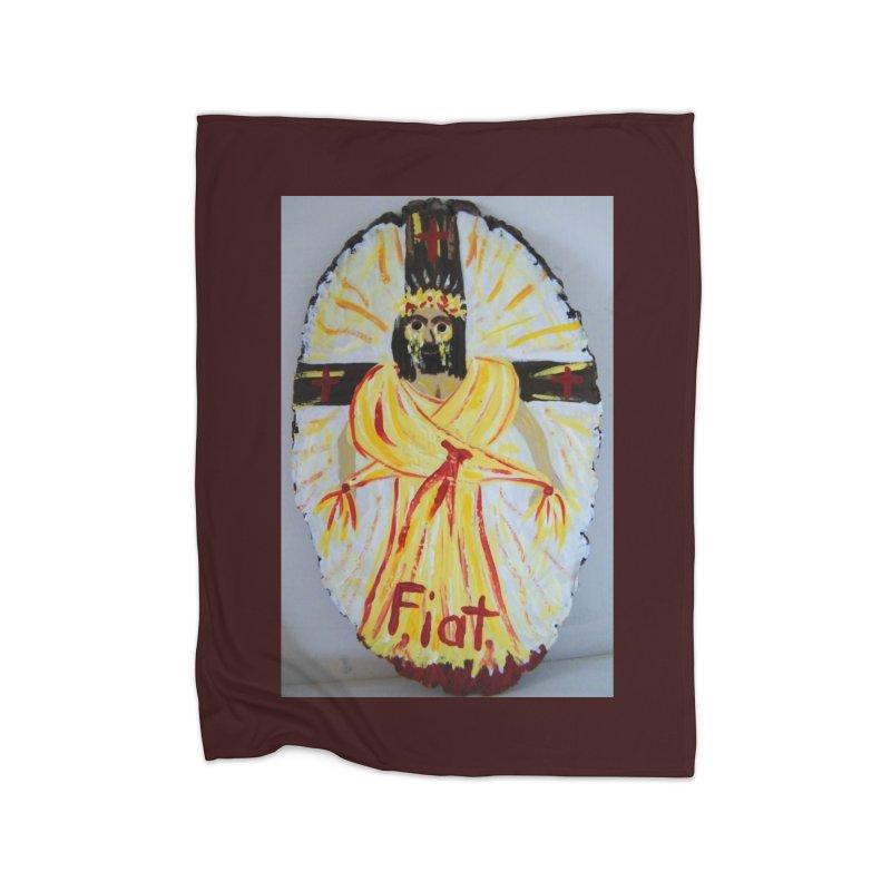 Resurrected Jesus Home Blanket by Mary Kloska Fiat's Artist Shop