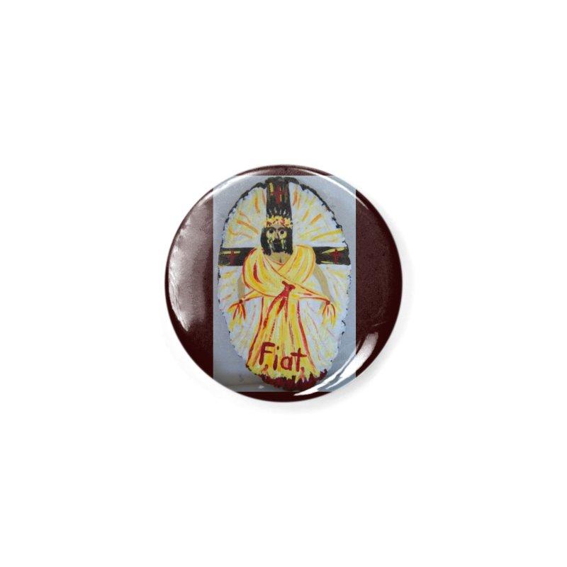 Resurrected Jesus Accessories Button by Mary Kloska Fiat's Artist Shop