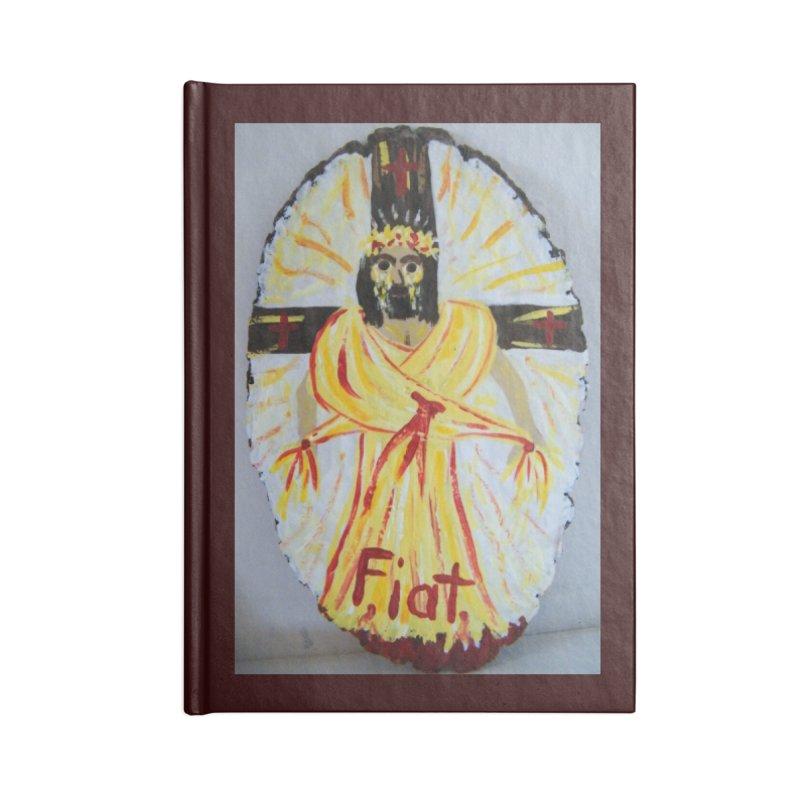 Resurrected Jesus Accessories Notebook by Mary Kloska Fiat's Artist Shop
