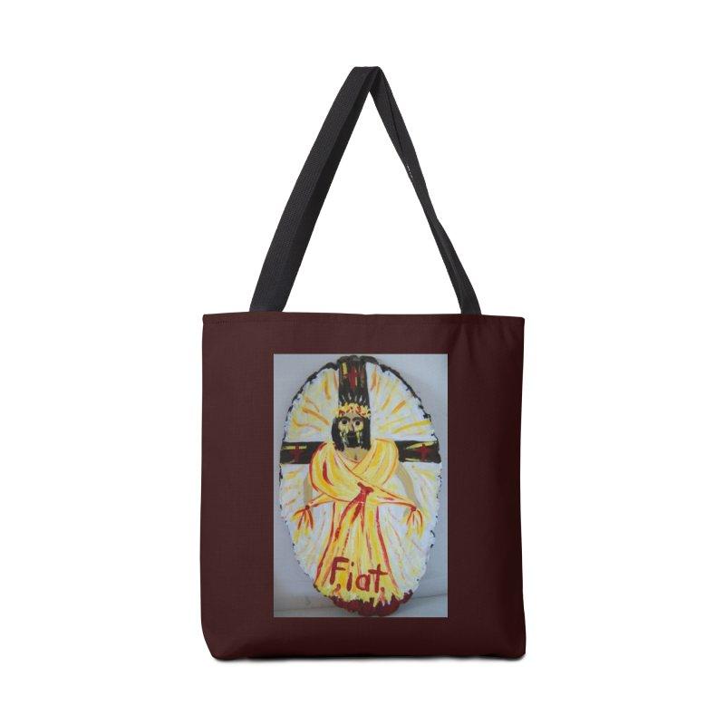 Resurrected Jesus Accessories Bag by Mary Kloska Fiat's Artist Shop