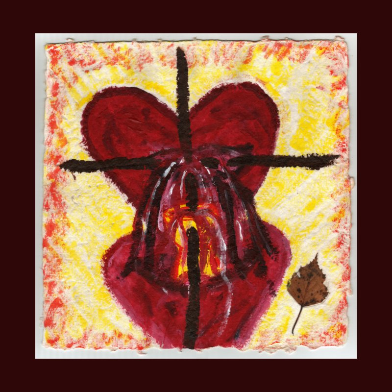 Indwelling Hearts Home Fine Art Print by Mary Kloska Fiat's Artist Shop