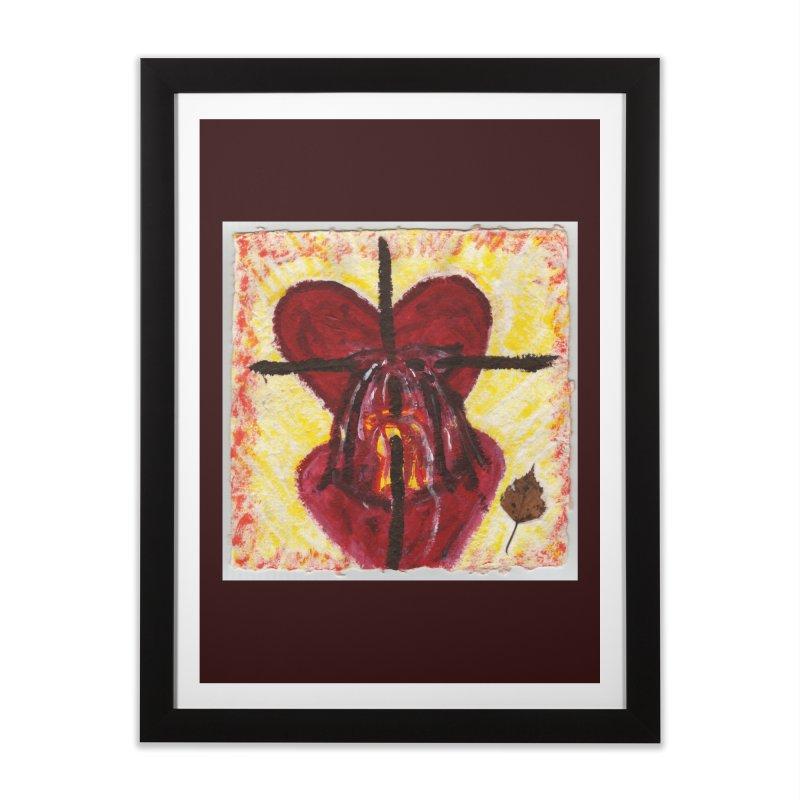 Indwelling Hearts Home Framed Fine Art Print by Mary Kloska Fiat's Artist Shop