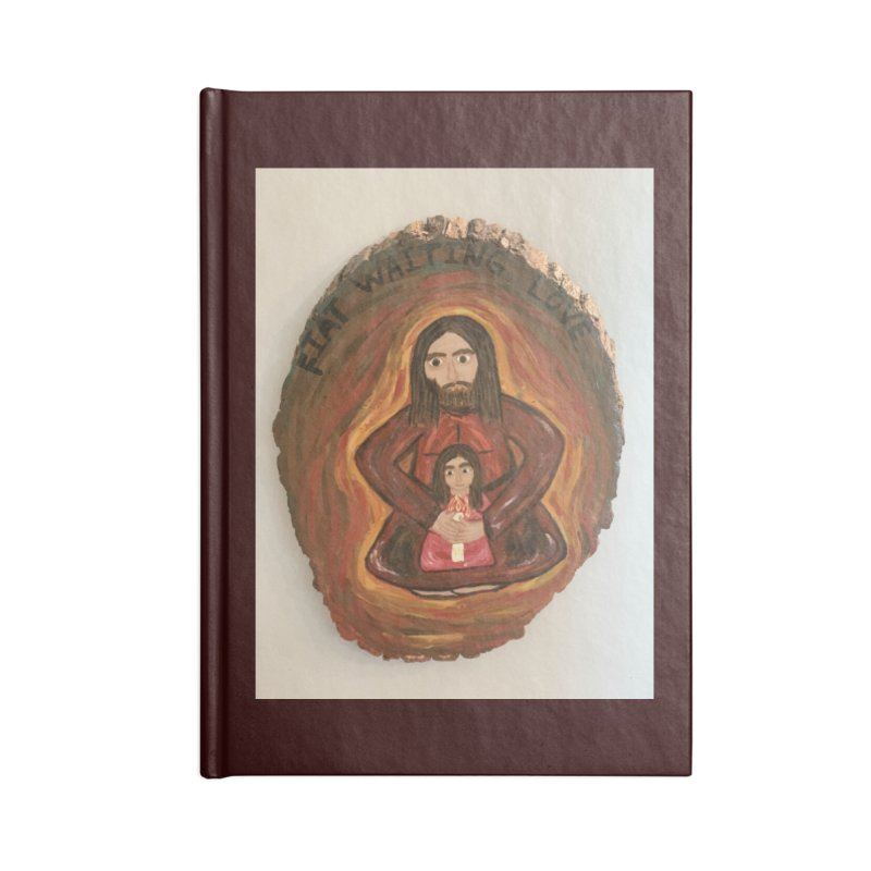 Fiat Waiting Love Accessories Notebook by Mary Kloska Fiat's Artist Shop