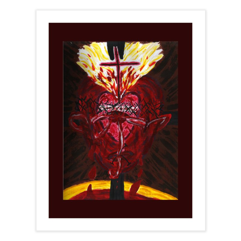 Hearts of Indwelling Love Home Fine Art Print by Mary Kloska Fiat's Artist Shop