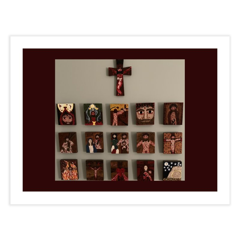 Stations of the Cross Home Fine Art Print by Mary Kloska Fiat's Artist Shop