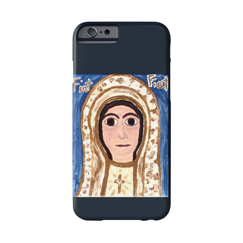 Our Lady of Fatima Accessories Phone Case by Mary Kloska Fiat's Artist Shop