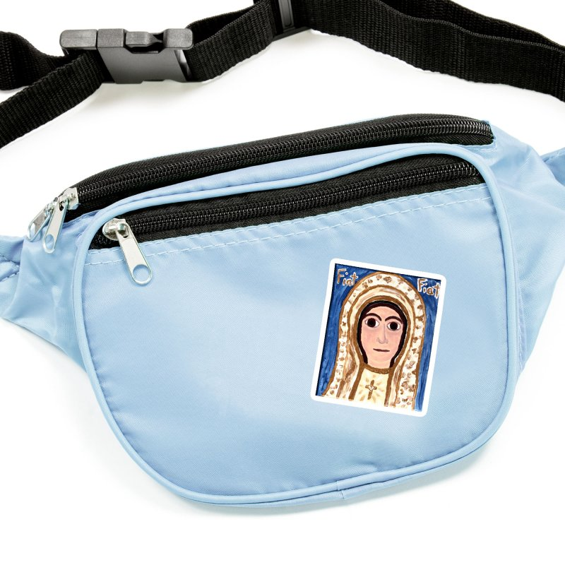 Our Lady of Fatima Accessories Sticker by Mary Kloska Fiat's Artist Shop