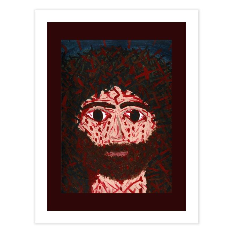 Face of Christ Home Fine Art Print by Mary Kloska Fiat's Artist Shop