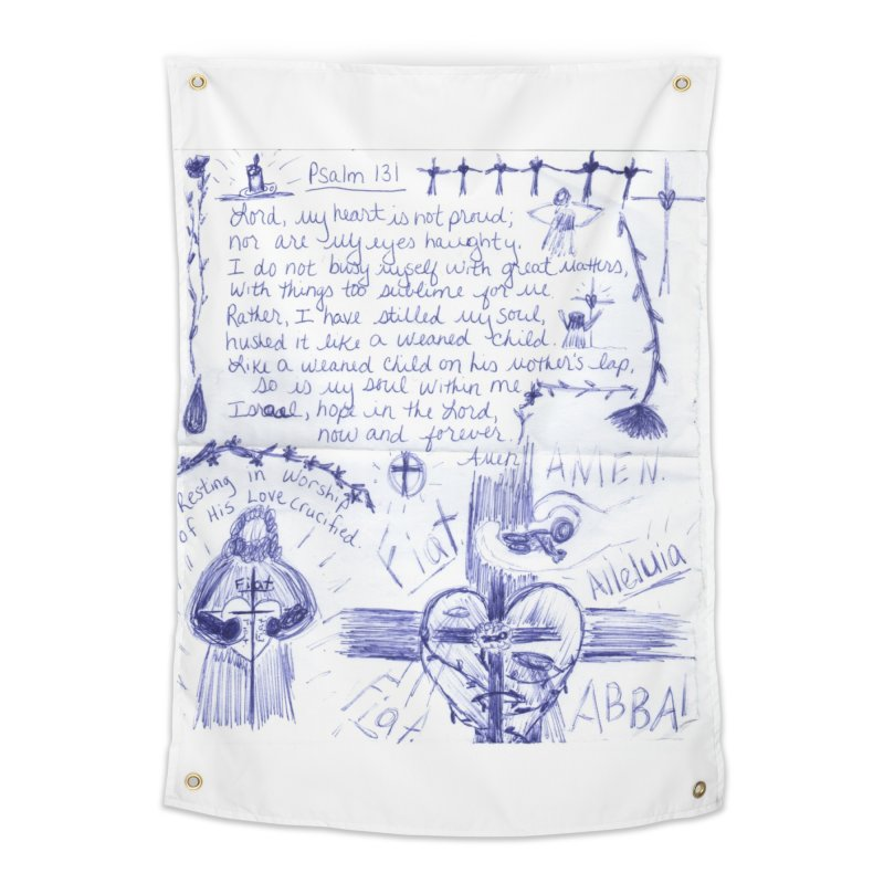 Psalm 131 Home Tapestry by Mary Kloska Fiat's Artist Shop