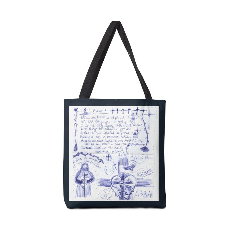 Psalm 131 Accessories Bag by Mary Kloska Fiat's Artist Shop