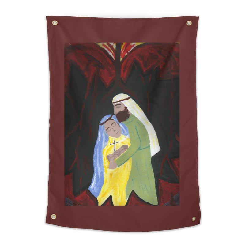 Holy Family Home Tapestry by Mary Kloska Fiat's Artist Shop