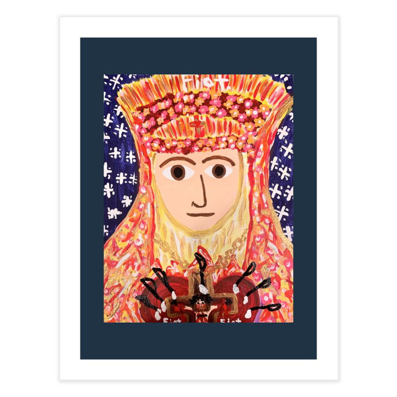 Queenship of Mary Home Fine Art Print by Mary Kloska Fiat's Artist Shop
