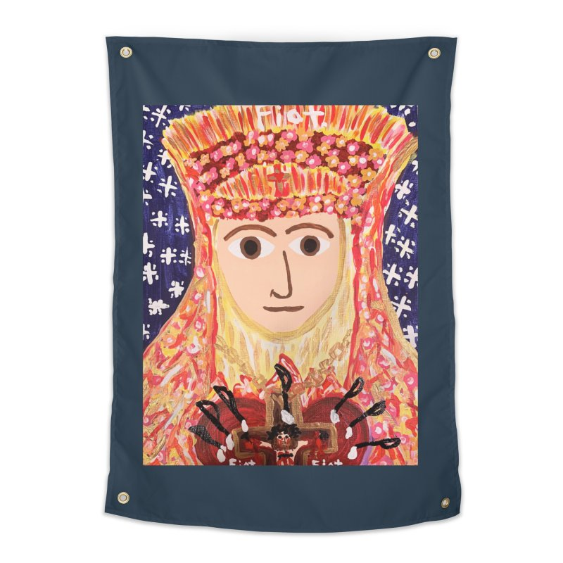 Queenship of Mary Home Tapestry by Mary Kloska Fiat's Artist Shop