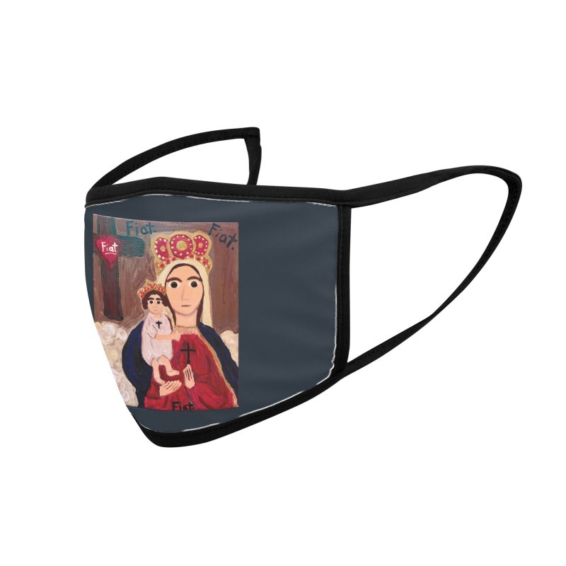Our Lady of Good Remedy Accessories Face Mask by Mary Kloska Fiat's Artist Shop