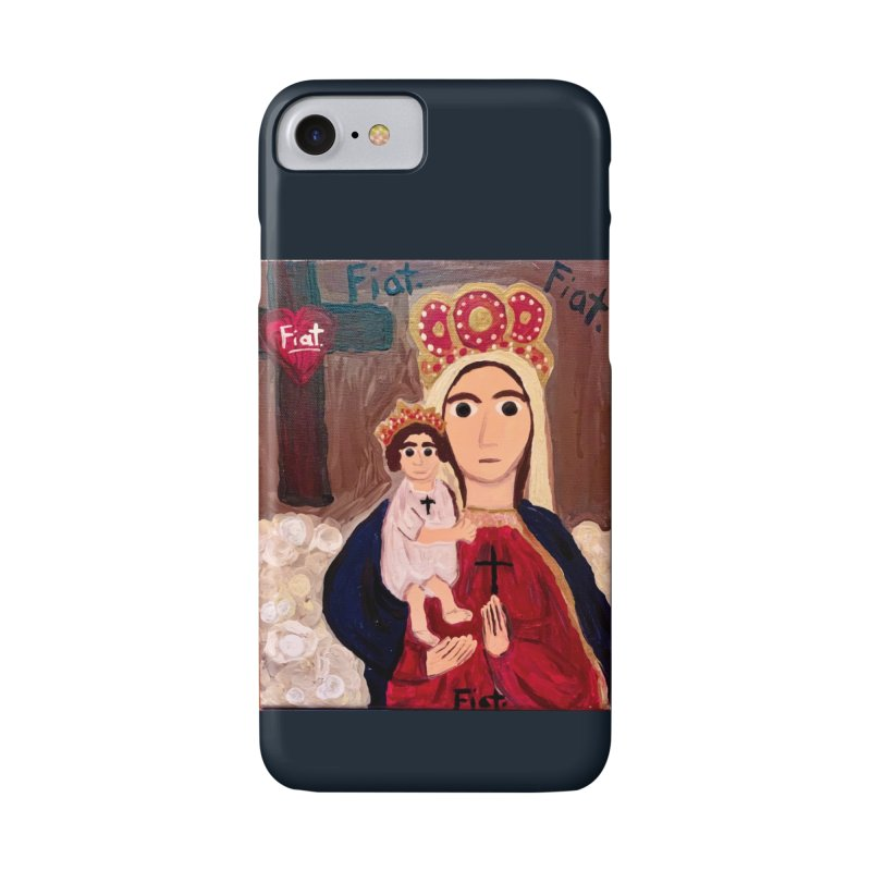 Our Lady of Good Remedy Accessories Phone Case by Mary Kloska Fiat's Artist Shop
