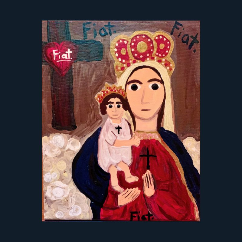 Our Lady of Good Remedy Home Fine Art Print by Mary Kloska Fiat's Artist Shop