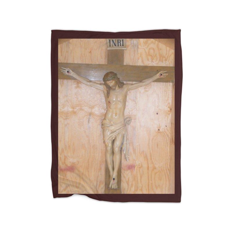 Hermitage Cross Home Blanket by Mary Kloska Fiat's Artist Shop