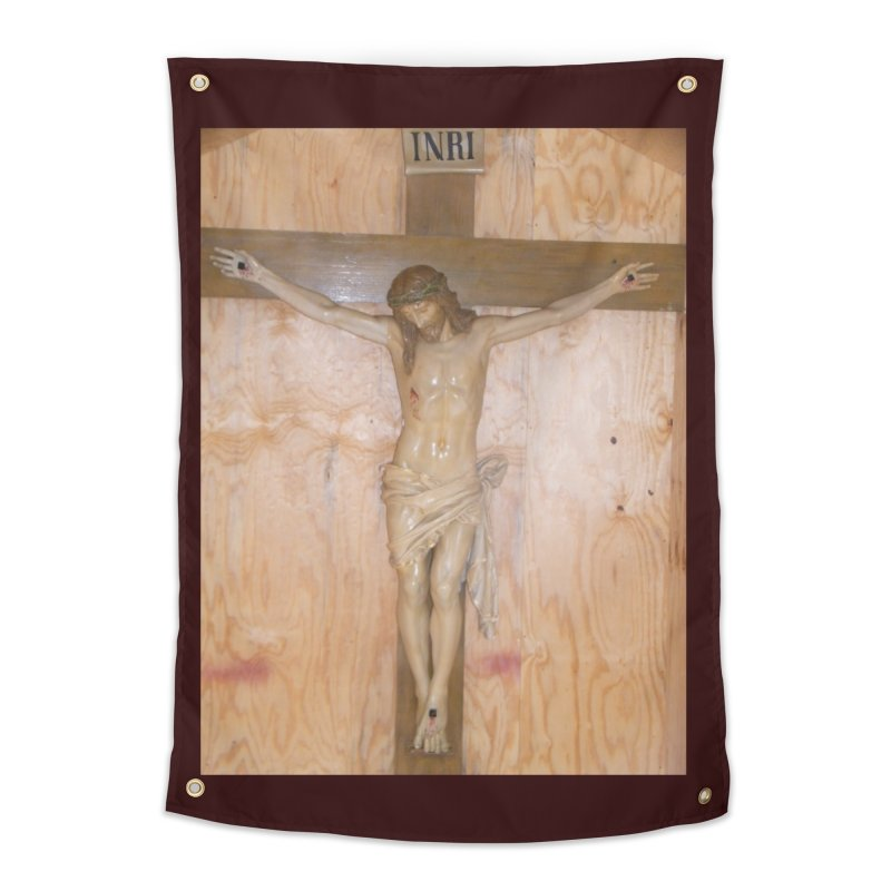 Hermitage Cross Home Tapestry by Mary Kloska Fiat's Artist Shop