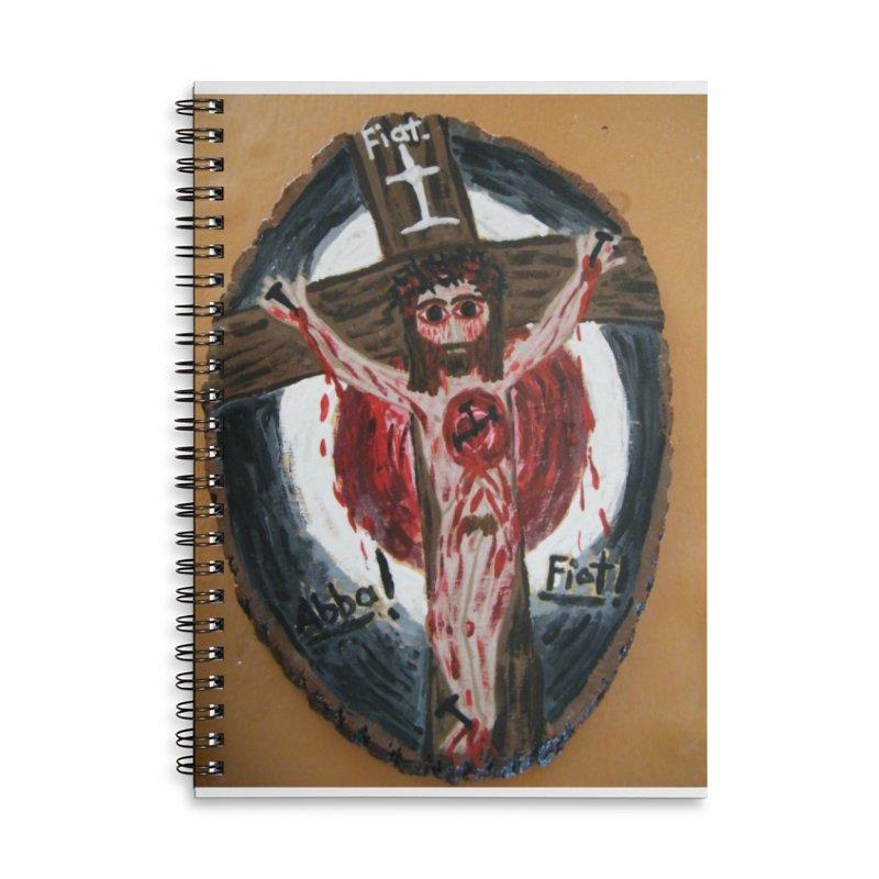 Abba, Fiat! Accessories Notebook by Mary Kloska Fiat's Artist Shop