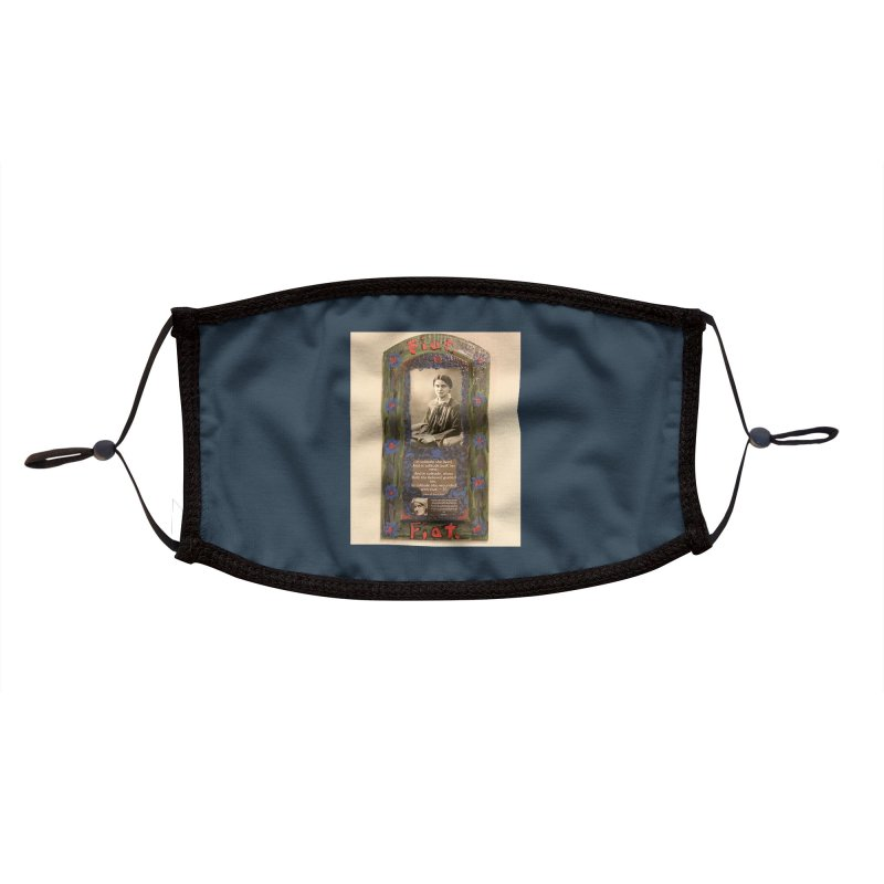 St. Edith Stein -Solitude Accessories Face Mask by Mary Kloska Fiat's Artist Shop