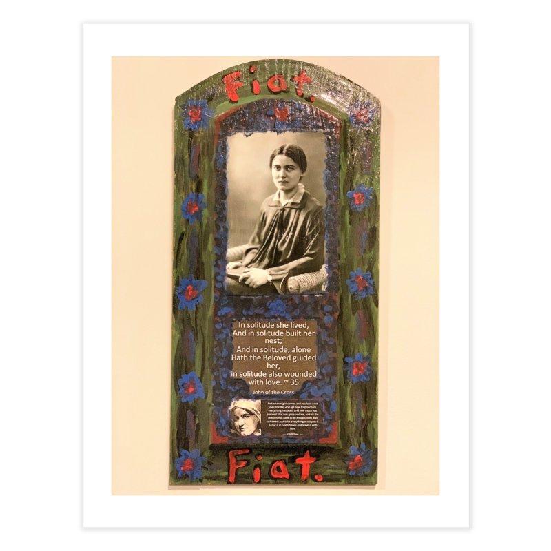 St. Edith Stein -Solitude Home Fine Art Print by Mary Kloska Fiat's Artist Shop
