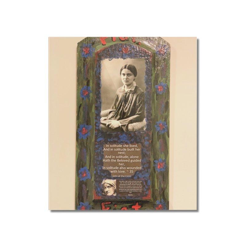 St. Edith Stein -Solitude Home Mounted Acrylic Print by Mary Kloska Fiat's Artist Shop