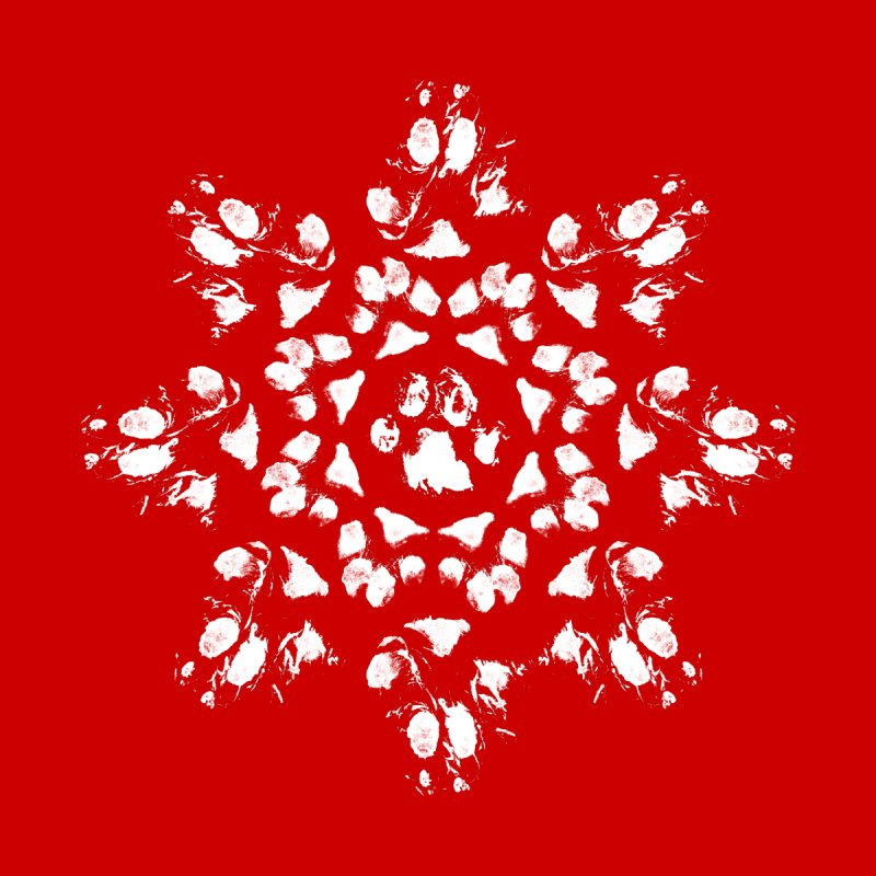 Happy Pawlidays! Men's T-Shirt by Maryland SPCA's Artist Shop
