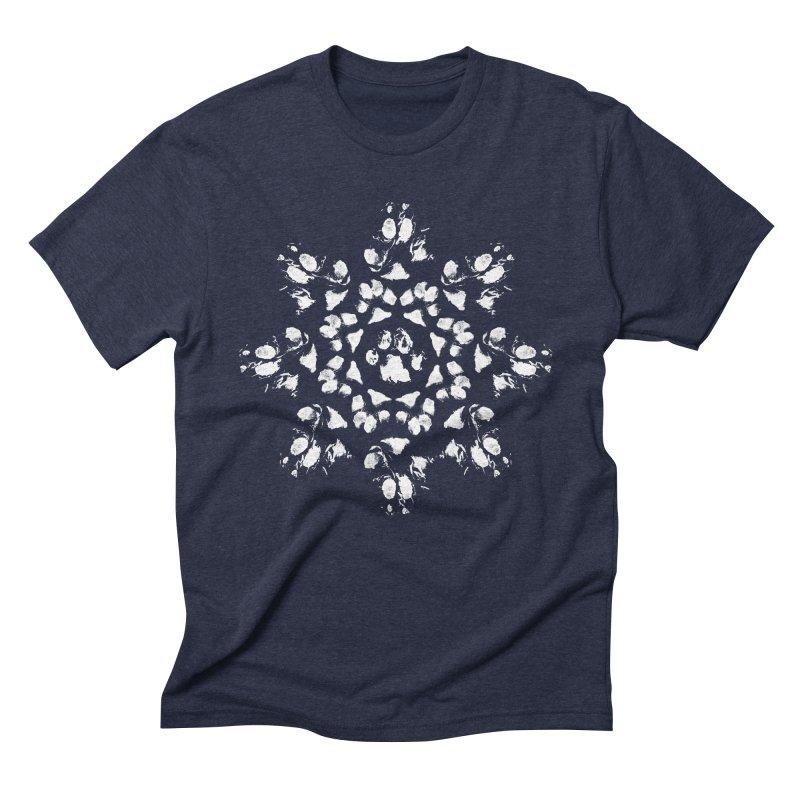 Happy Pawlidays! Men's T-Shirt by Maryland SPCA's Artist Shop