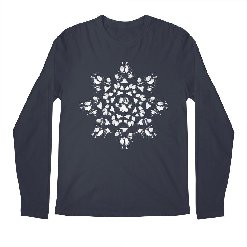 Happy Pawlidays! Men's Longsleeve T-Shirt by Maryland SPCA's Artist Shop