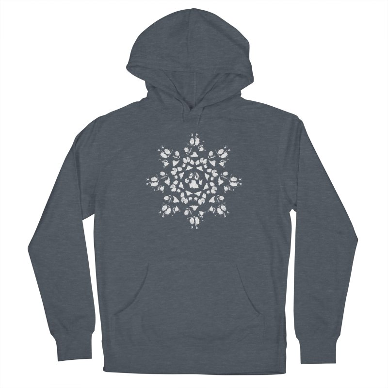 Happy Pawlidays! Men's Pullover Hoody by Maryland SPCA's Artist Shop