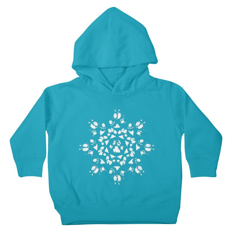 Happy Pawlidays! Kids Toddler Pullover Hoody by Maryland SPCA's Artist Shop