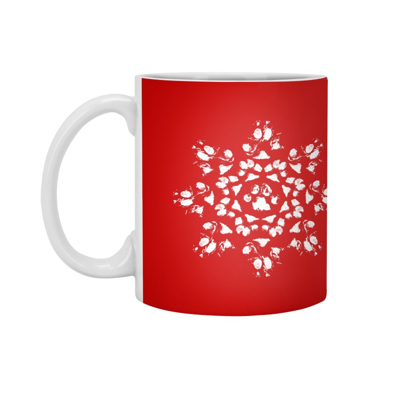 Happy Pawlidays! Accessories Mug by Maryland SPCA's Artist Shop