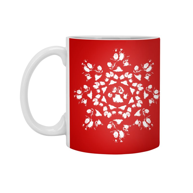 Happy Pawlidays! Accessories Standard Mug by Maryland SPCA's Artist Shop