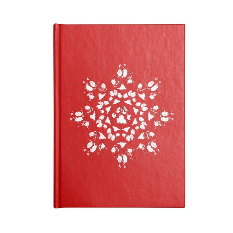 Happy Pawlidays! Accessories Lined Journal Notebook by Maryland SPCA's Artist Shop