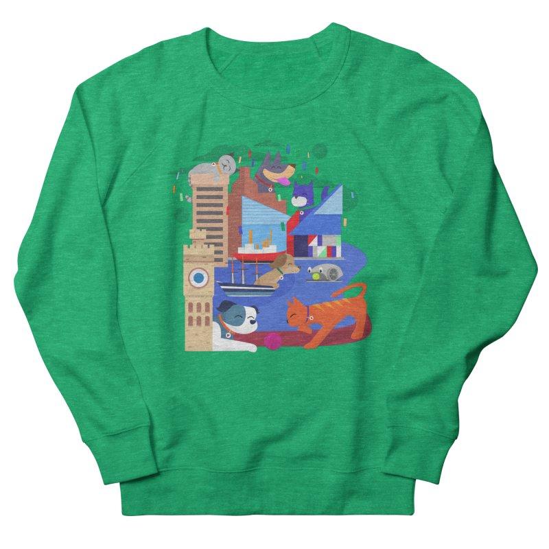 Pawtimore by Richard Kercz Men's Sweatshirt by Maryland SPCA's Artist Shop